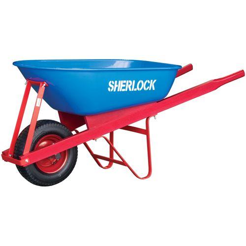 Sherlock 100L Steel Trade Tough Tray Wheelbarrow