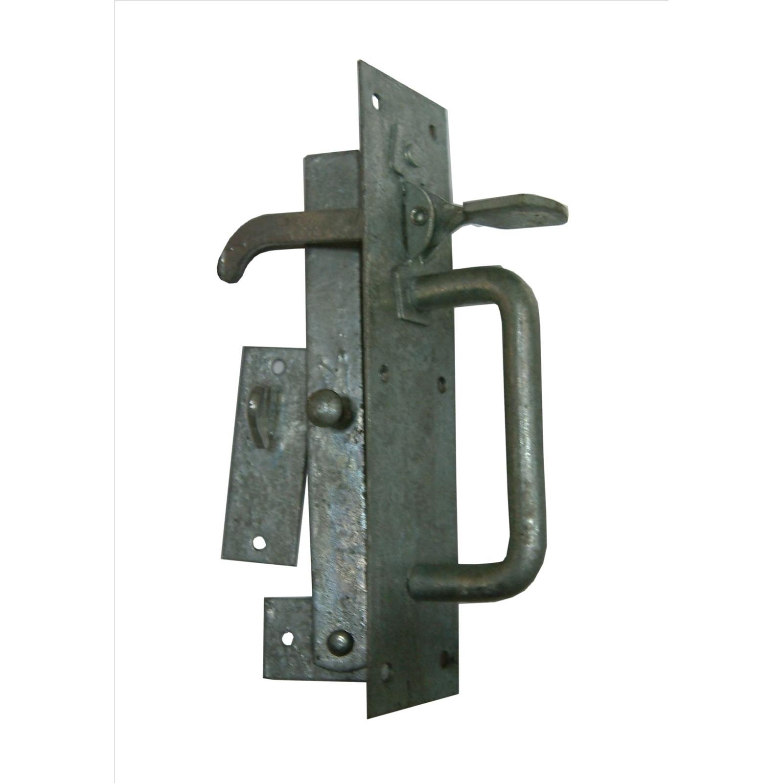 Xcel Suffolk Gate Latch Heavy Galvanised Grey