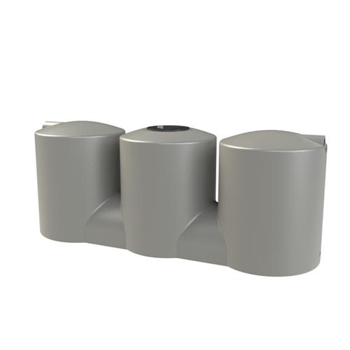 Melro 2007L Squat Slimline Poly Water Tank - Birch Grey