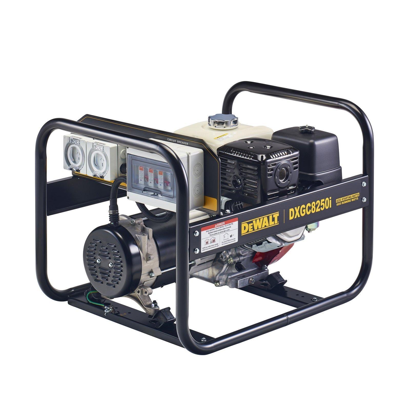 DeWALT 8.2kVA Open Frame Petrol Generator