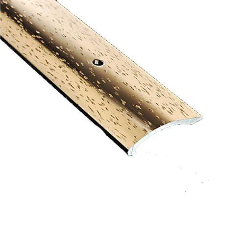 Roberts Hammered Flooring Coverstrip Trim 2440mm Bronze