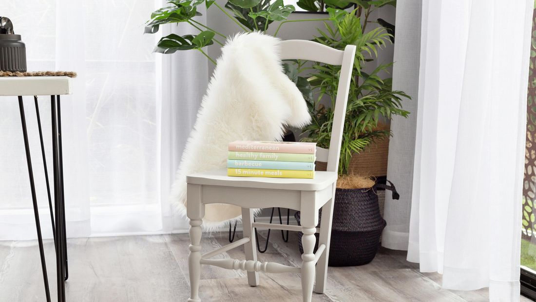 DIY Advice Image - How to upcycle wooden dining chairs. G Drive blob storage upload.