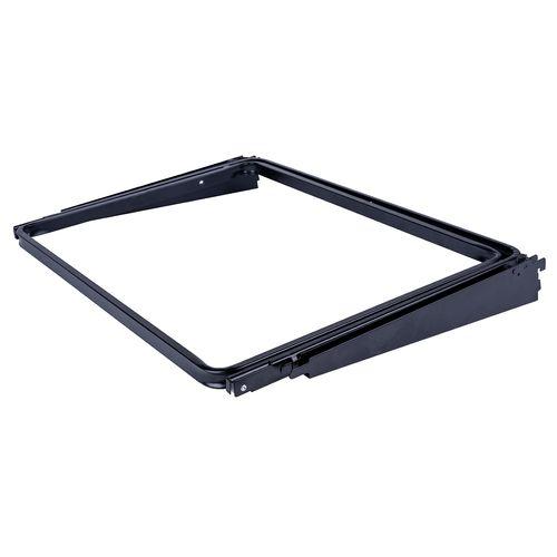 Flexi Storage Home Solutions Black Sliding Basket Frame
