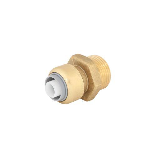 "SmarteX P 16mm x 3 / 4"" Push Fit Brass Pex Male Connector"