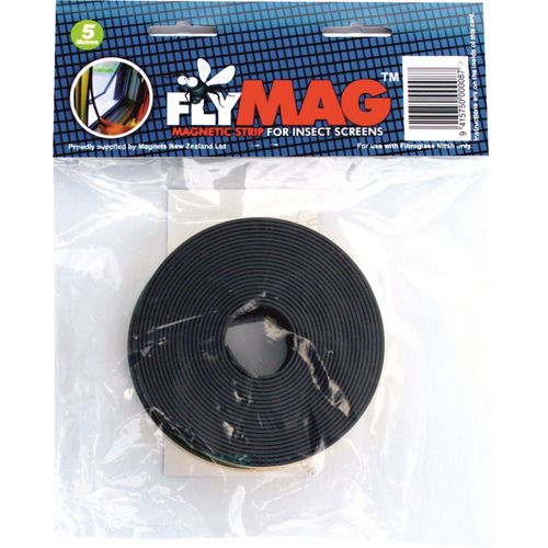 Flymag Magnetic Insect Screen Strips 12.5mm x 5m
