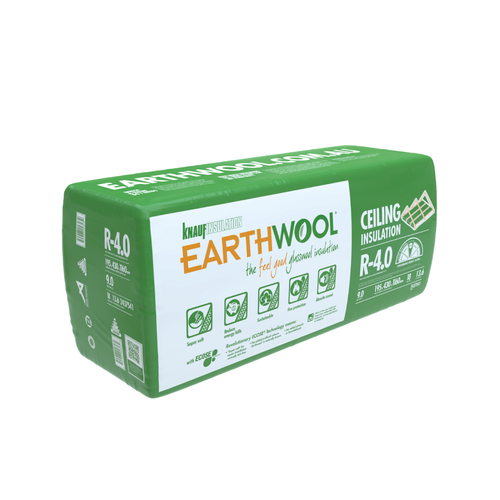 Earthwool R4.0 195mm x 430mm x 1160mm 8.98m² Insulation Ceiling Batt - Pack of 18