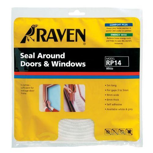 Raven 5m Door And Window Seal - RP14 White