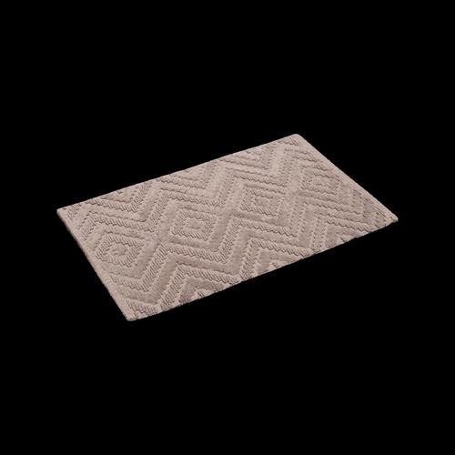 Softouch 800 x 500mm Sand Diamond Hill Bathmat