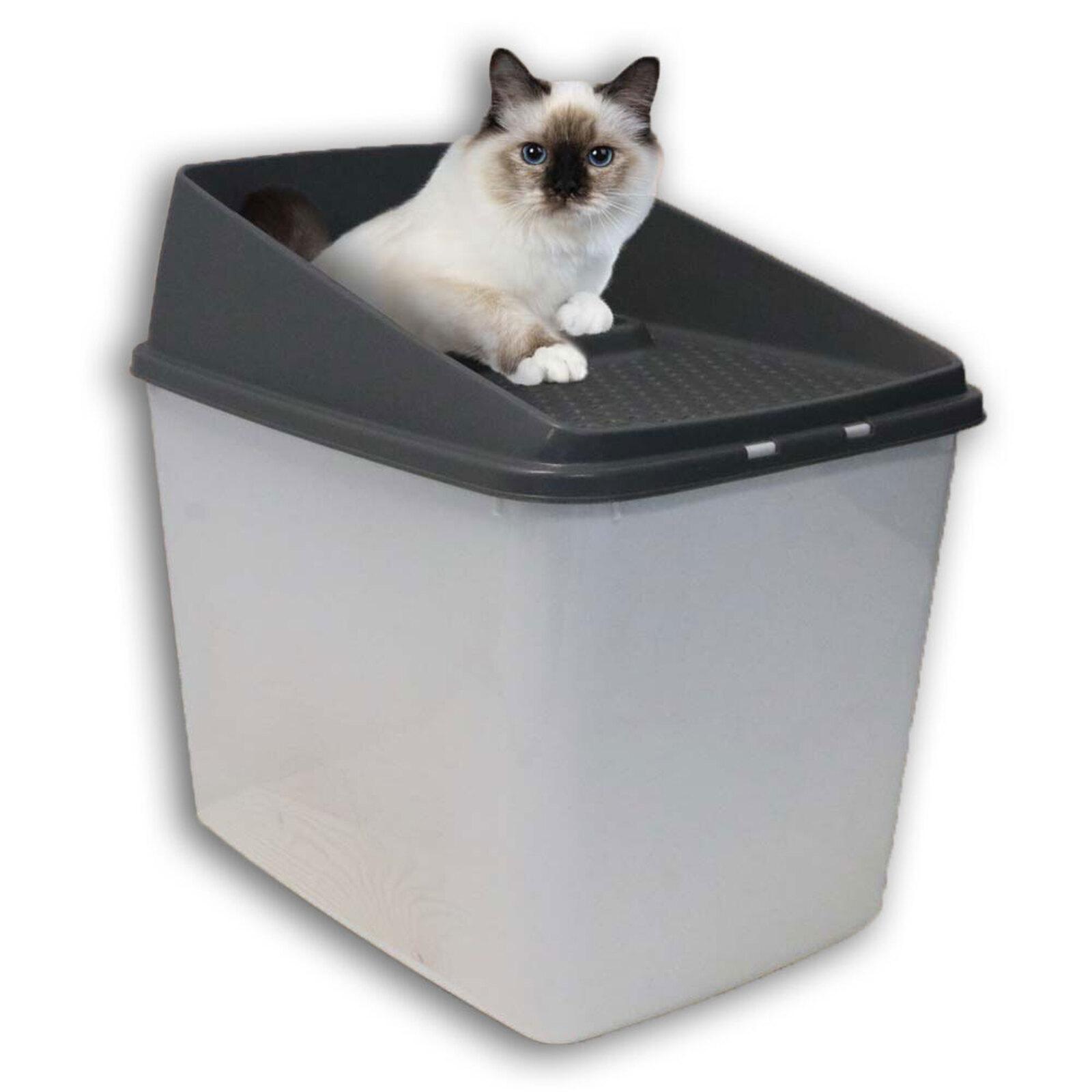 Paws & Claws Hide Away Pet/Kitten/Cat Litter Box w/ Built In Filtering Grate Lid