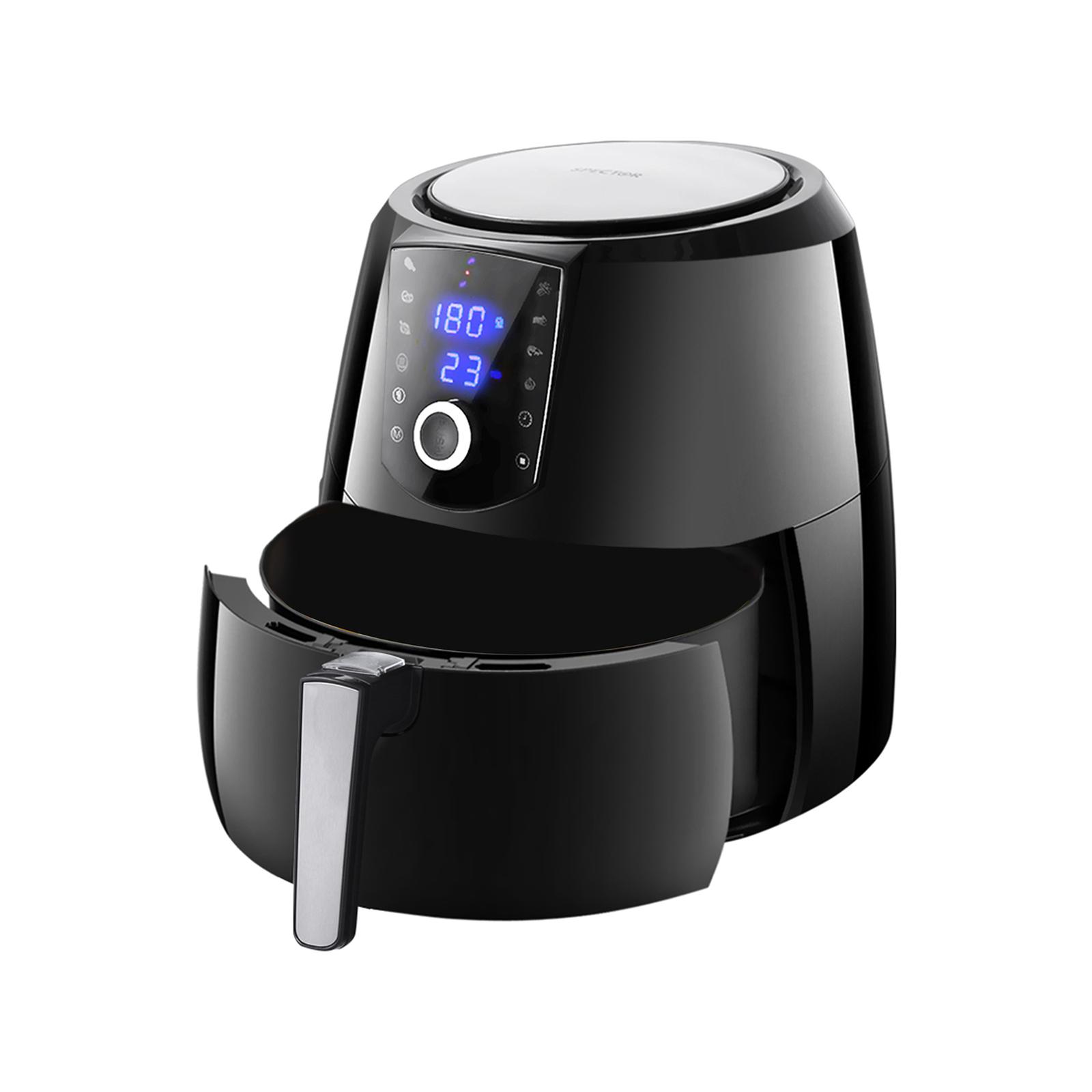 Spector 7L Black Air Fryer LCD Cooker Deep Fryers Oven Oil Free Low Fat Healthy