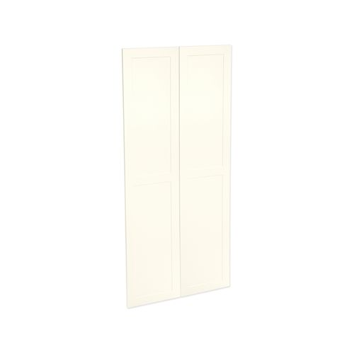 Kaboodle 900mm Antique White Alpine Pantry Door - 2 Pack