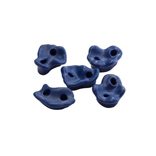 Swing Slide Climb Blue Climbing Rocks - 5 Pack