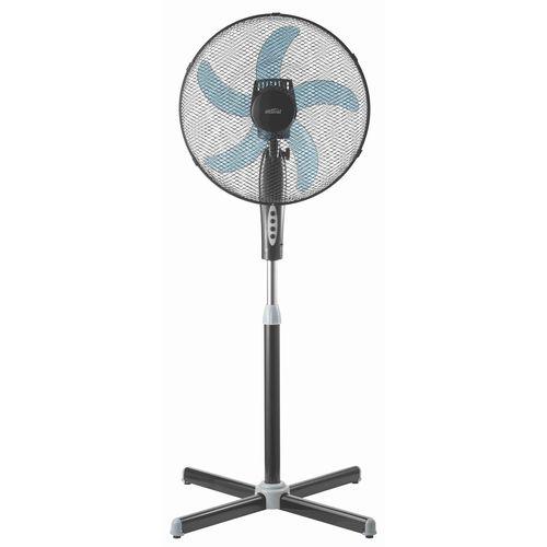 Mistral 40cm 5 Blade Black Pedestal Fan