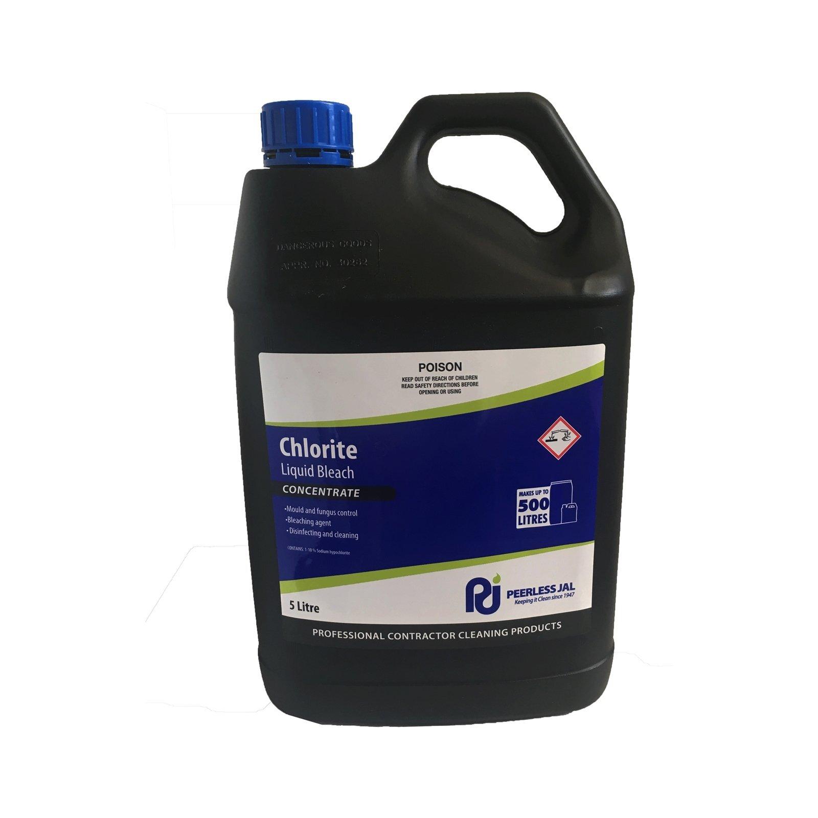 Peerless JAL 5L Chlorite Liquid Bleach