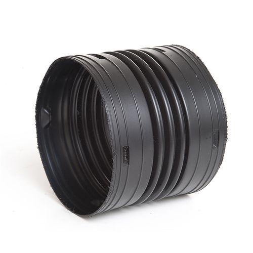 Marley Drainflo® 110mm Black Straight Coupler
