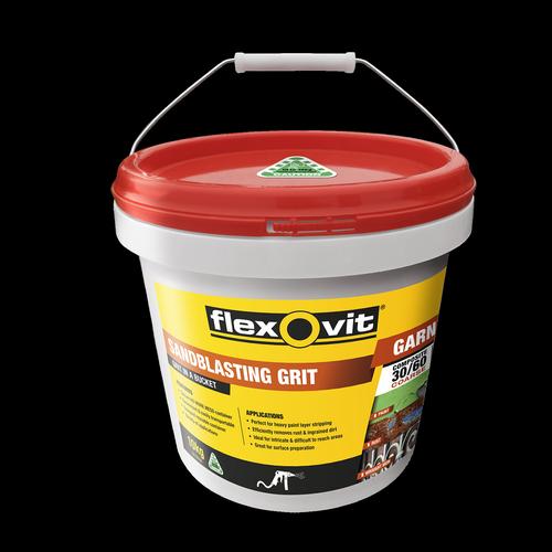 Flexovit 10kg Garnet Sandblasting Grit