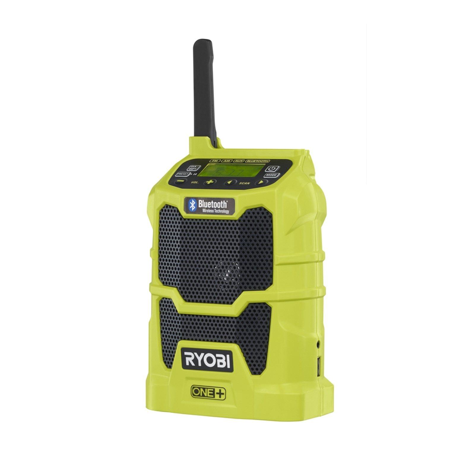 Ryobi ONE+ 18V AM/FM Radio with Bluetooth - Skin Only