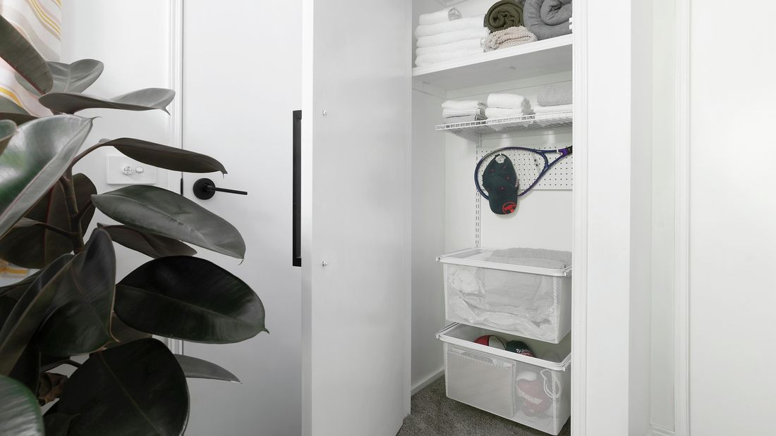 DIY Step Image - How to organise your linen closet. Blob storage upload.