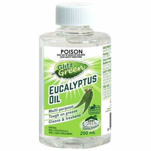 Glitz Green 250ml Eucalyptus Oil Cleaner