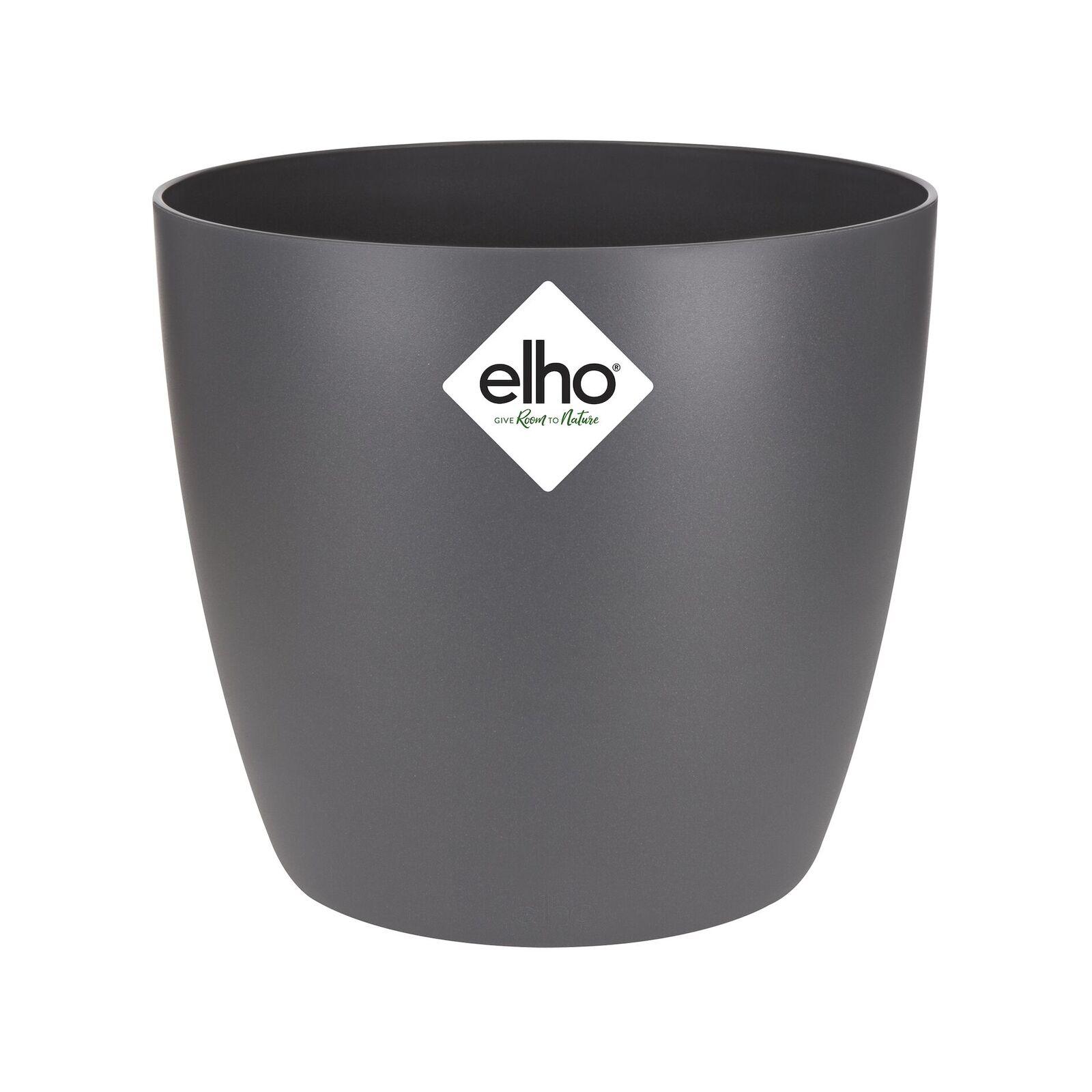 Elho 12.5cm Anthracite Mini Brussels Pot