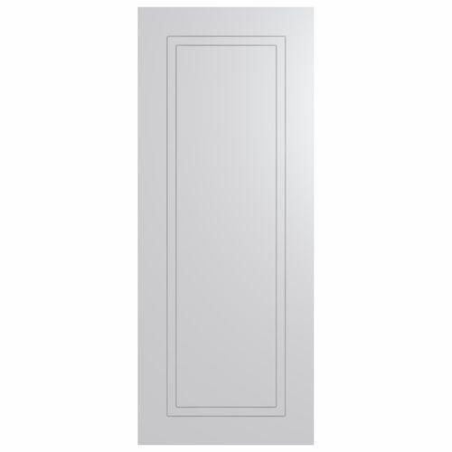 Hume Doors & Timber 2040 x 820 x 35mm Primed HA5 Smart Robe Wardrobe Door