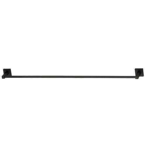 Mondella 935mm Matte Black Rococo Towel Rail