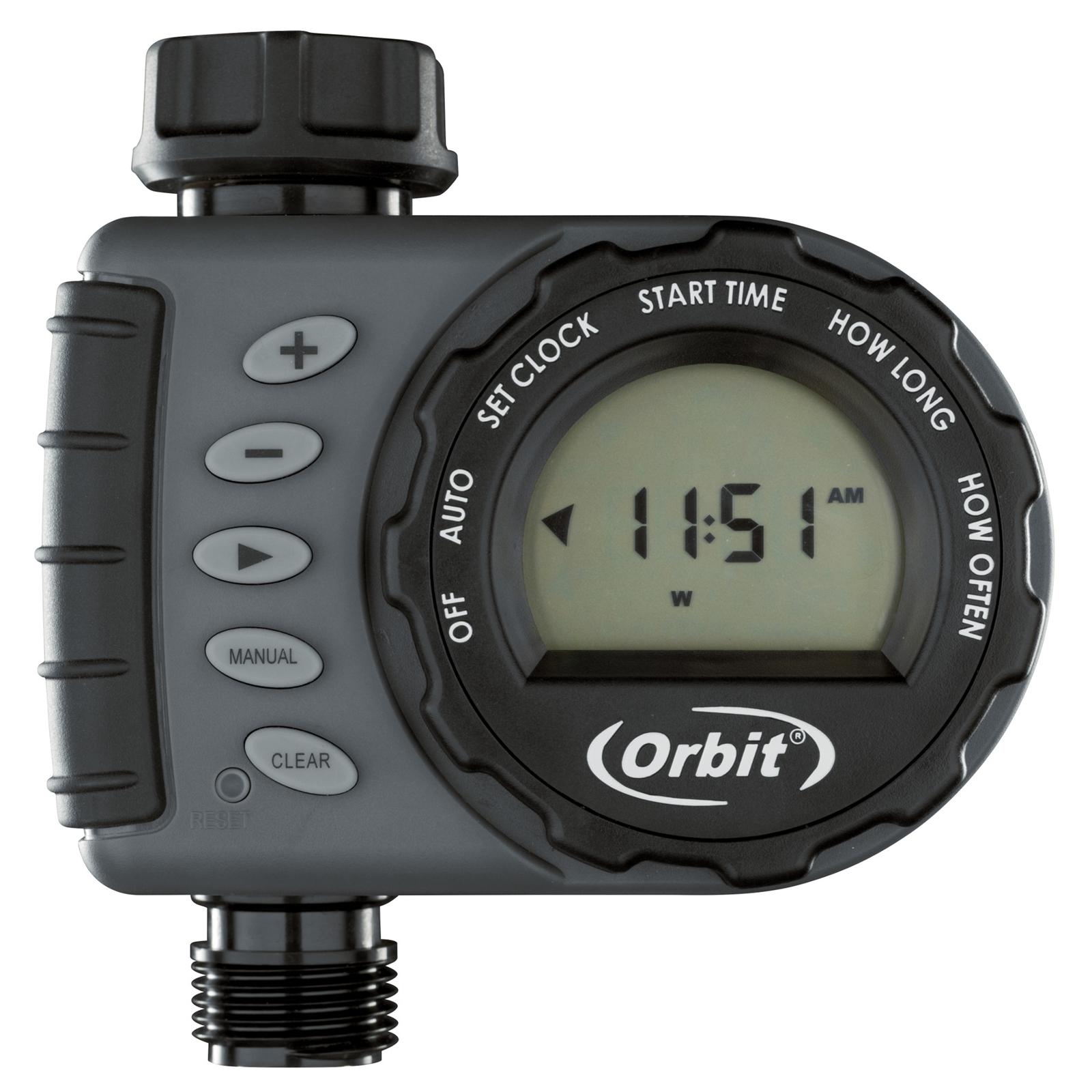 Orbit 12mm 1 Dial 1 Outlet Tap Timer