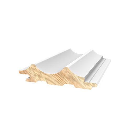 Porta Contours 78 x 21mm 2.7m Primed Cirque Pine Lining Board