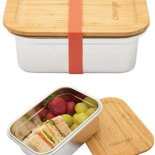 STAINLESS STEEL SNACK BOX - BPA FREE - EXTRA LARGE