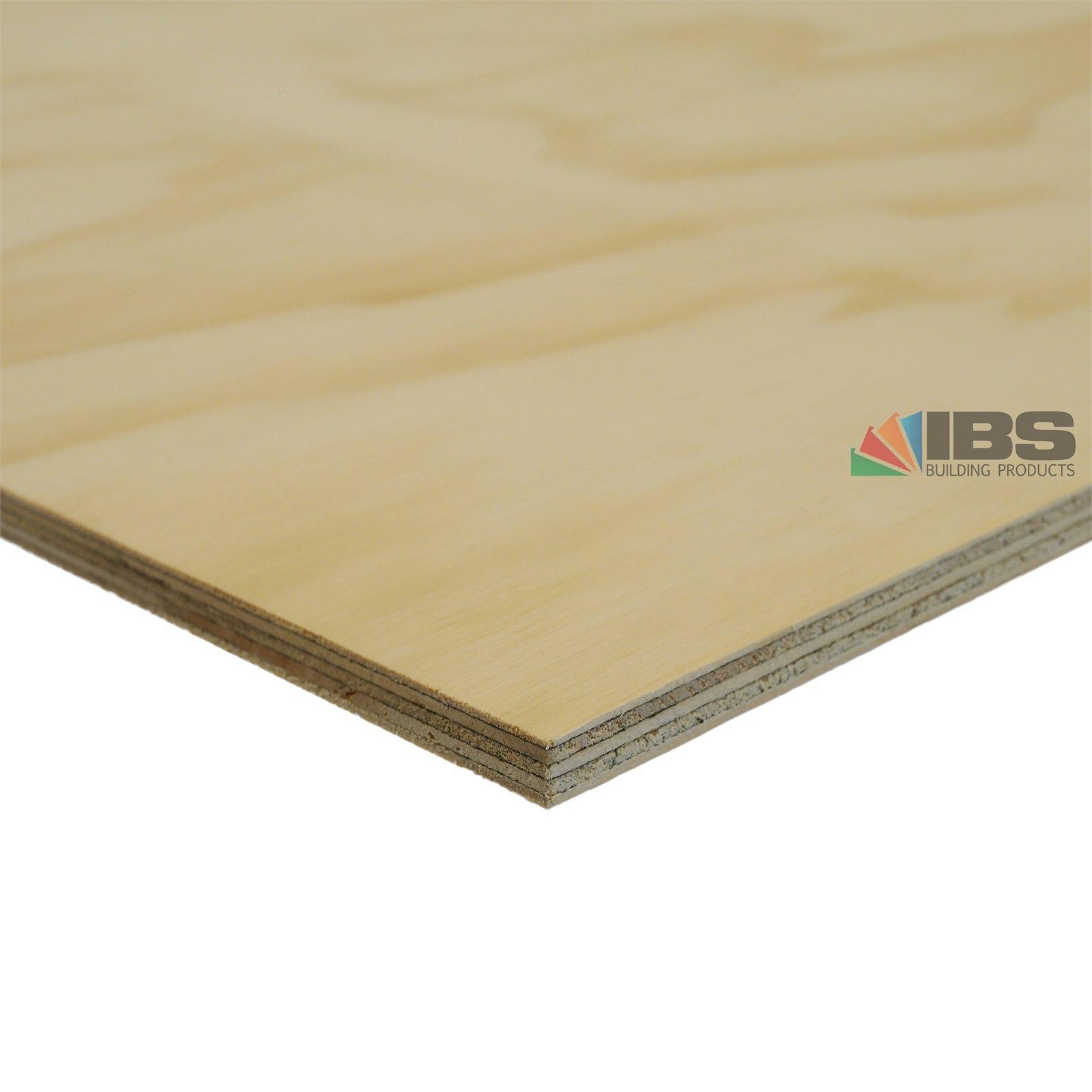 IBS Mini Panels 1200 x 1200 x 12mm Untreated CD Plywood