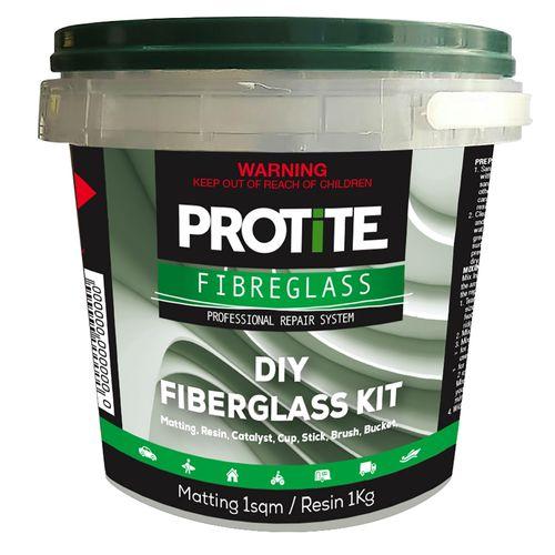Protite 1kg Large Fibreglass Kit