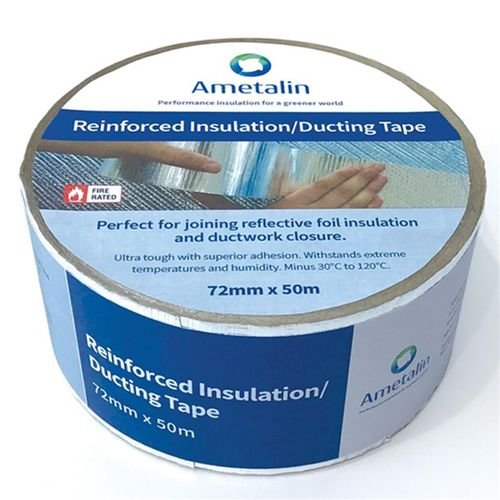 Ametalin 72mm x 50m Reinforced Insulation / Ducting Tape