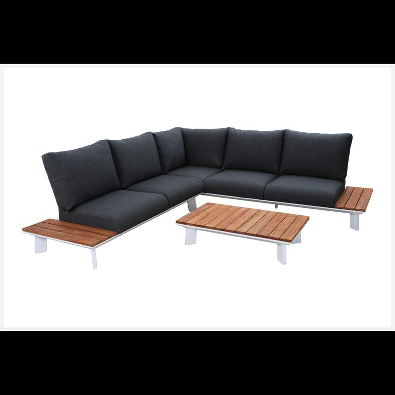 Positano Aluminium Corner Setting Lounge