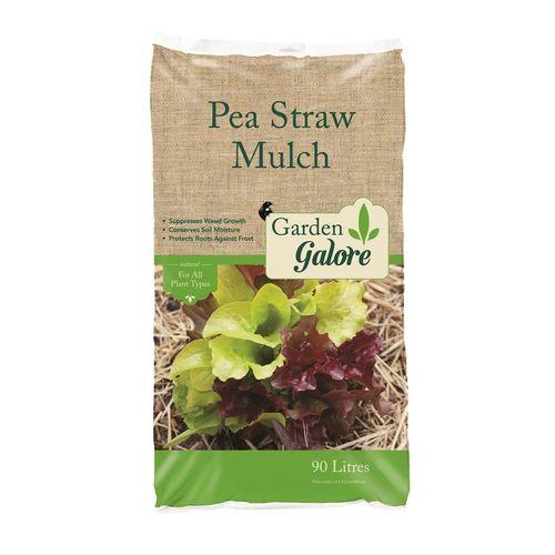 Garden Galore 90L Pea Straw Mulch