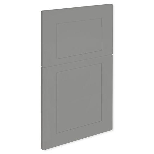 Kaboodle 400mm Smoked Grey Alpine 2 Drawer Wastebin panels