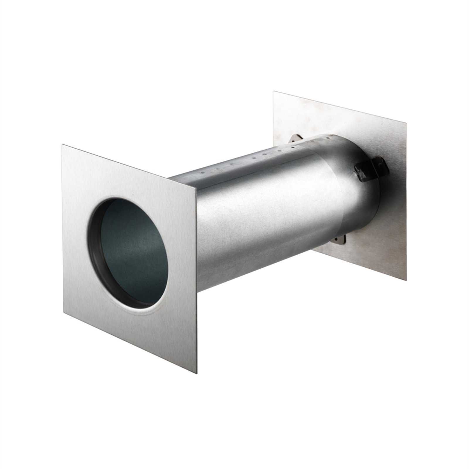 Sandleford 170mm Stainless Steel Square Newspaper Ring With Tube