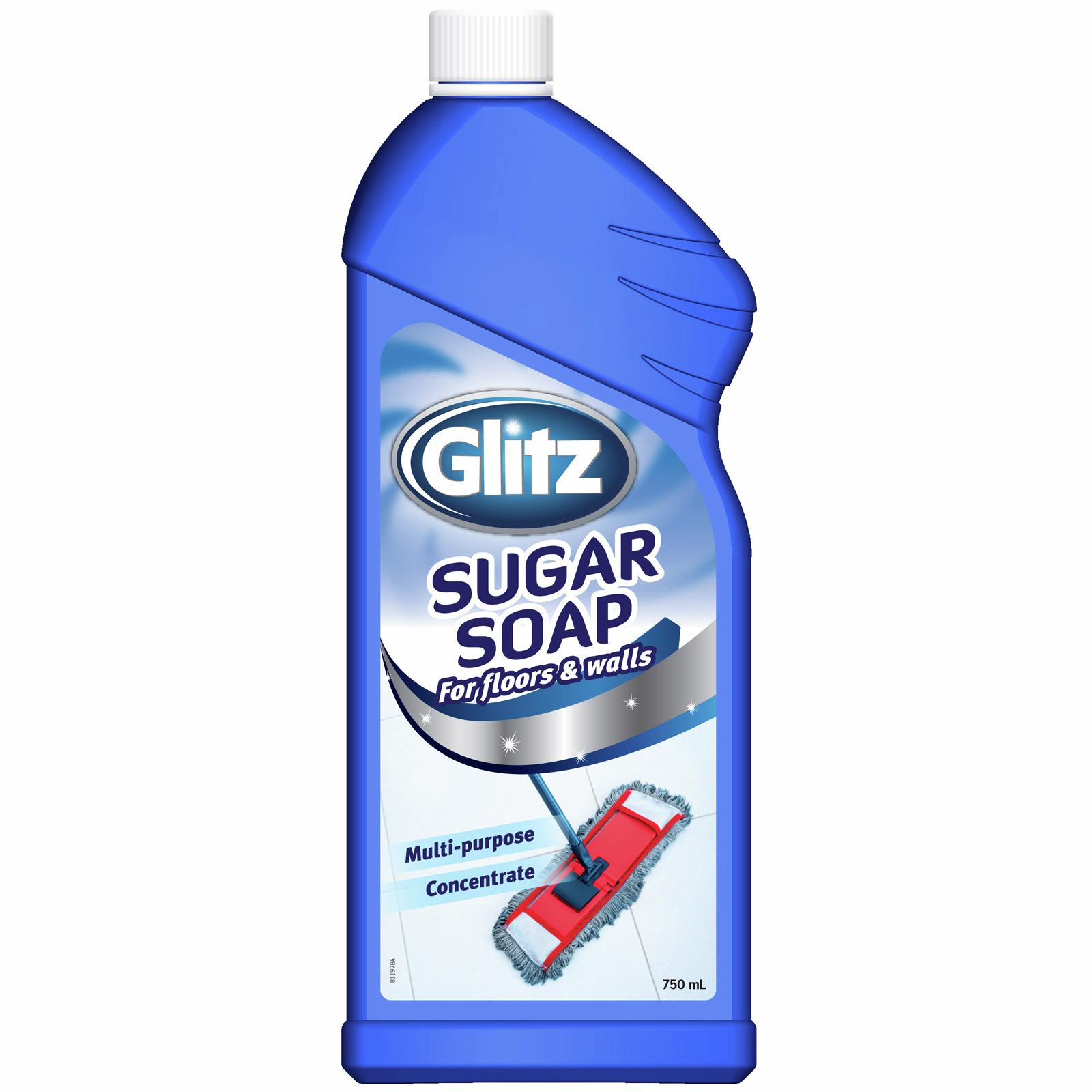Glitz 750ml Sugar Soap For Floors