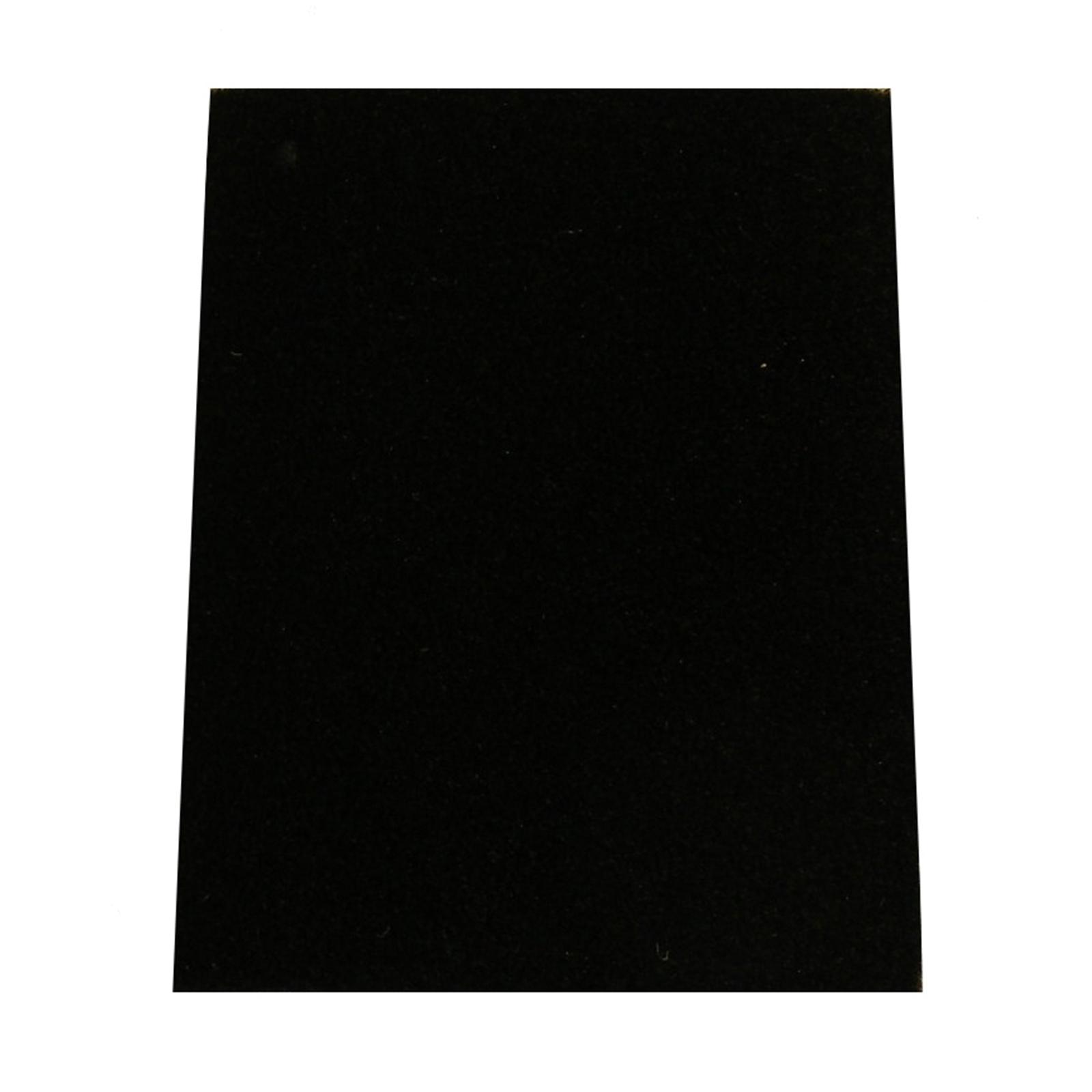 Ideal DIY 67cm Belvet Plush Black Car Matting