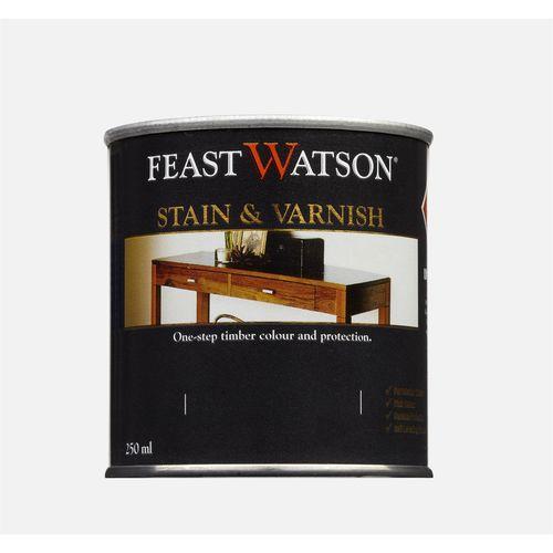 Feast Watson 250ml Satin Black Japan Stain & Varnish