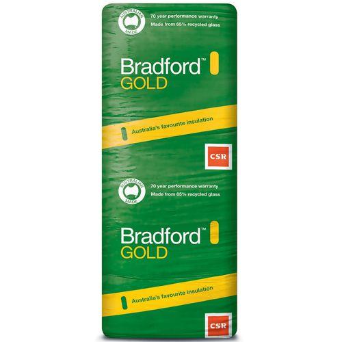 Bradford R3.0 1160 x 580 x 165mm 12.2m2 Gold Ceiling Batts - 16 Pack