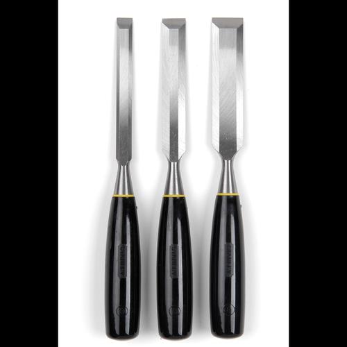 Stanley 5000 Series 3 Piece Long Blade Chisel Set