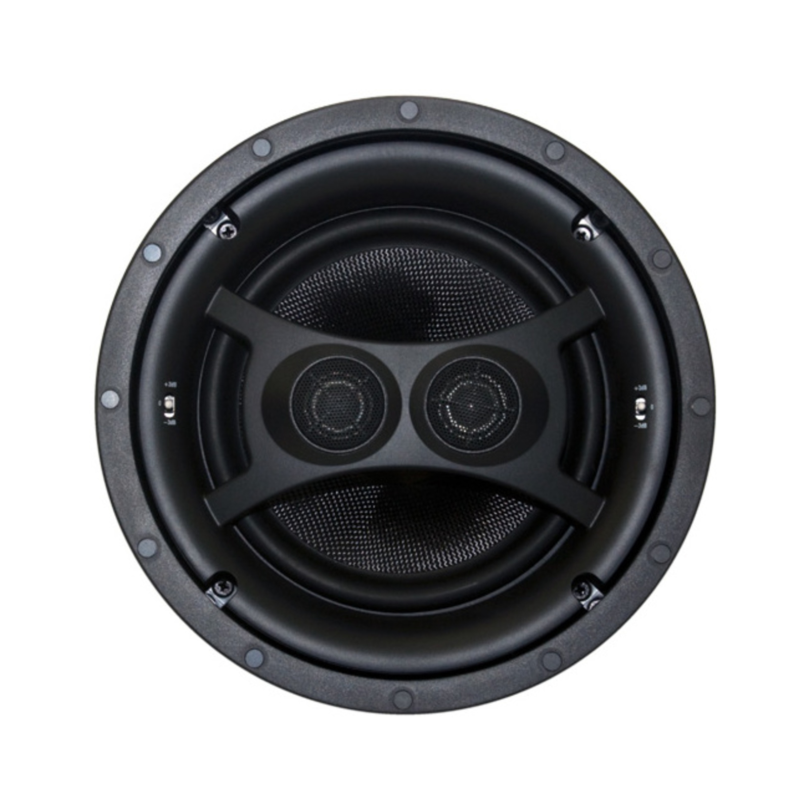 """Earthquake 8"""" Ceiling Stereo Speaker Dual Voice Coil Woofers With Kevlar Cone Bodies 8"""" Ceiling Stereo Speaker Dipole/Bipole"""