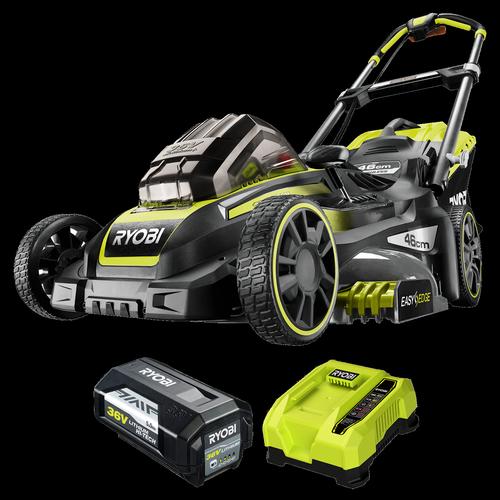 "Ryobi Lithium+ 36V 5.0Ah 18"" Brushless Lawn Mower Kit"