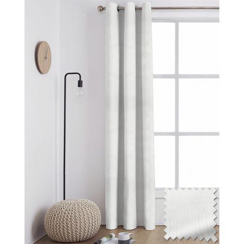 Windoware 1200 x 2230mm Twist Blockout Eyelet Curtain - Blockout Twist  Natural