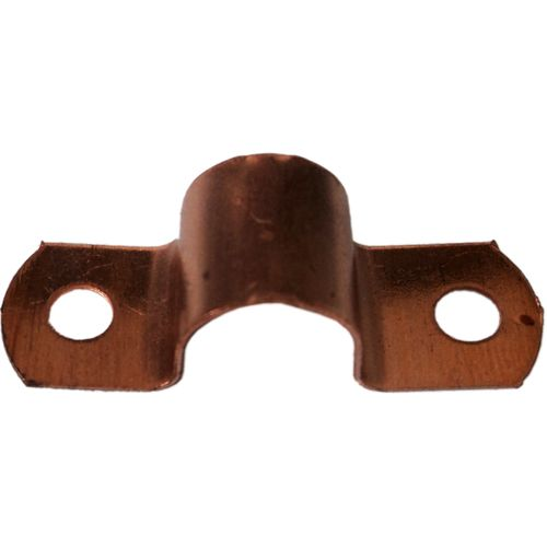 Kinetic 15mm Copper Pipe Saddle Clips - 10 Pack