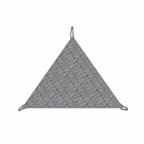 Coolaroo 3m Riverstone Ready-To-Hang Triangle Shade Sail