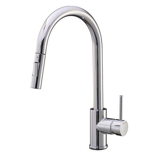 Mondella Cadenza Chrome WELS 5 Star 6L/min Vege Spray Sink Mixer