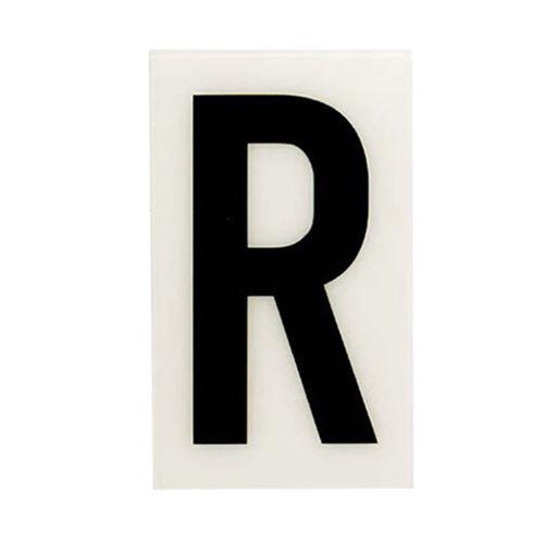 Sandleford 85 x 55mm R White Self Adhesive Letter
