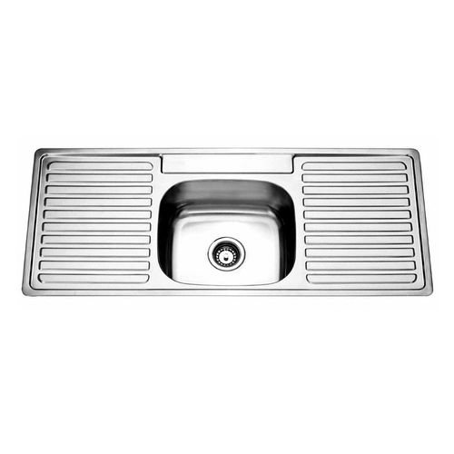 Picassi Perta100D Stainless Steel Single Sink Double Drainer