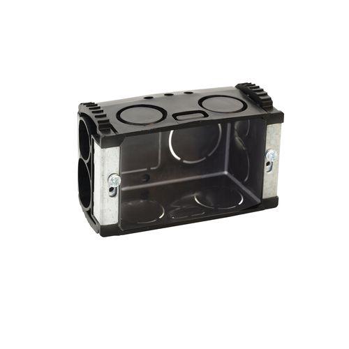 HPM Wall Box Standard Size w/ Sliding Nuts Black